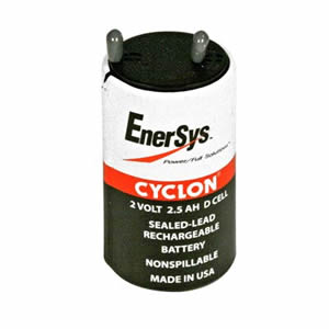 Hawker 0810-0004 Cyclon 2.5Ah 2v Battery