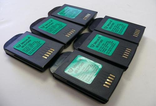 6 Batteries 7.4v1950mAh-HU3000/1030070 for Psion Teklogix 7535 Barcode Scanner batteries