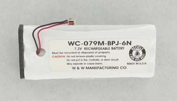 MBPJS6N Battery For Ritron SST150 Two Way Radio.