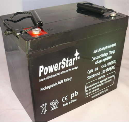 Powerstar RBC13 Replacement Battery