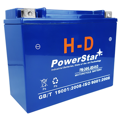 Replacement YTX24HL-BS Motorsport Battery