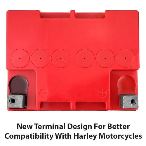 Harley Davidson SLA AGM 30L-BS Motorcycle Battery 3