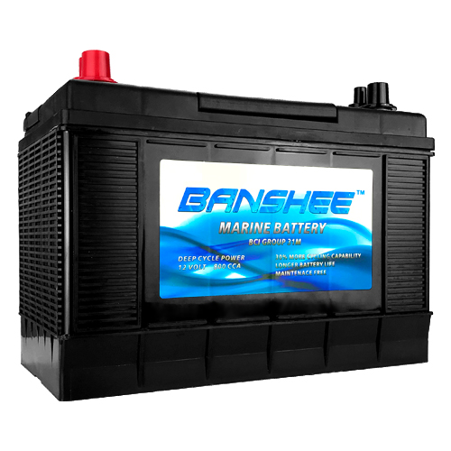 31 Series Marine Battery Replaces Optima Blue Top D31M