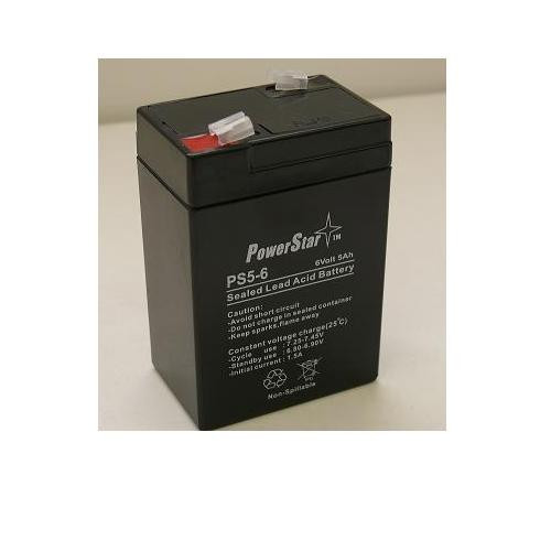 POWERSTAR 2YR Warranty PowerStar® Long Way LW-3FM4.5AJ - 6.00 Volt 4.50 AmpH SLA Battery at Sears.com