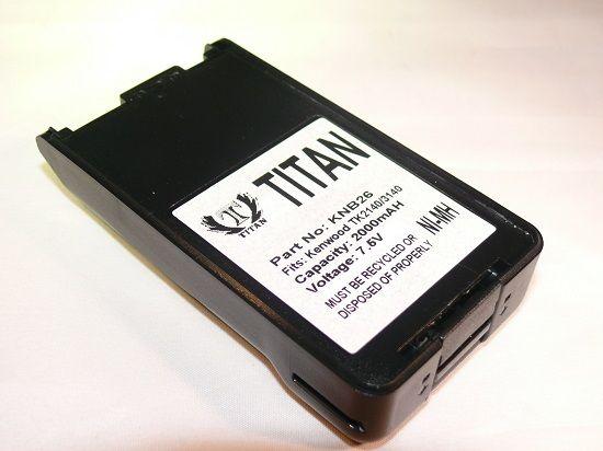 Titan Brand Replacement 2000mAh KNB-25A KNB-26N Battery for KENWOOD TK-2160 TK-3160 TK-2170 TK-3170 at Sears.com