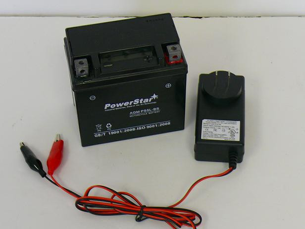 POWERSTAR BATTERY/Charger ES5L-BS,YACHT CT5L-BS,YUASA YTX5L-BS, PTX5LBS-FS,FACTORY SEALED at Sears.com