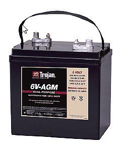 Trojan 6V-AGM Marine/RV AGM Dual Series 6V Battery