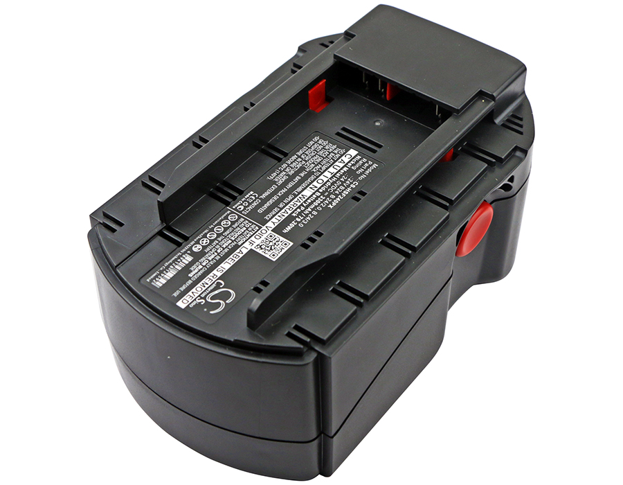 24 Volt Replacement 24V Battery for Hilti B24 SFL 24 WSR 650-A Power Tools 3300MAH