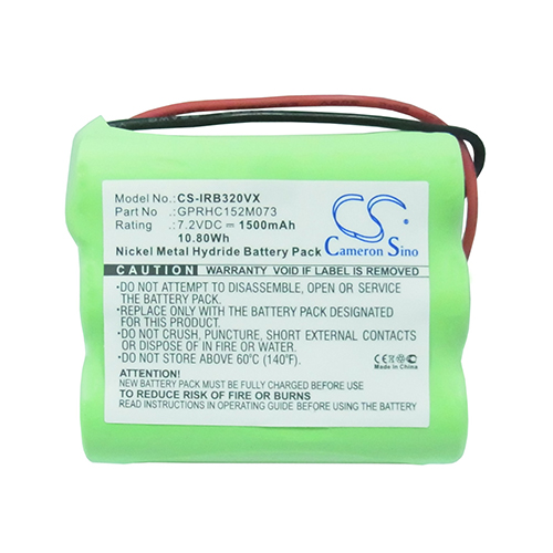 Banshee 1500mAh Extended Replacement Battery for Mint 4205, Braava 320, Braava 321, 4408927 iRobot Automatic Hard Floor