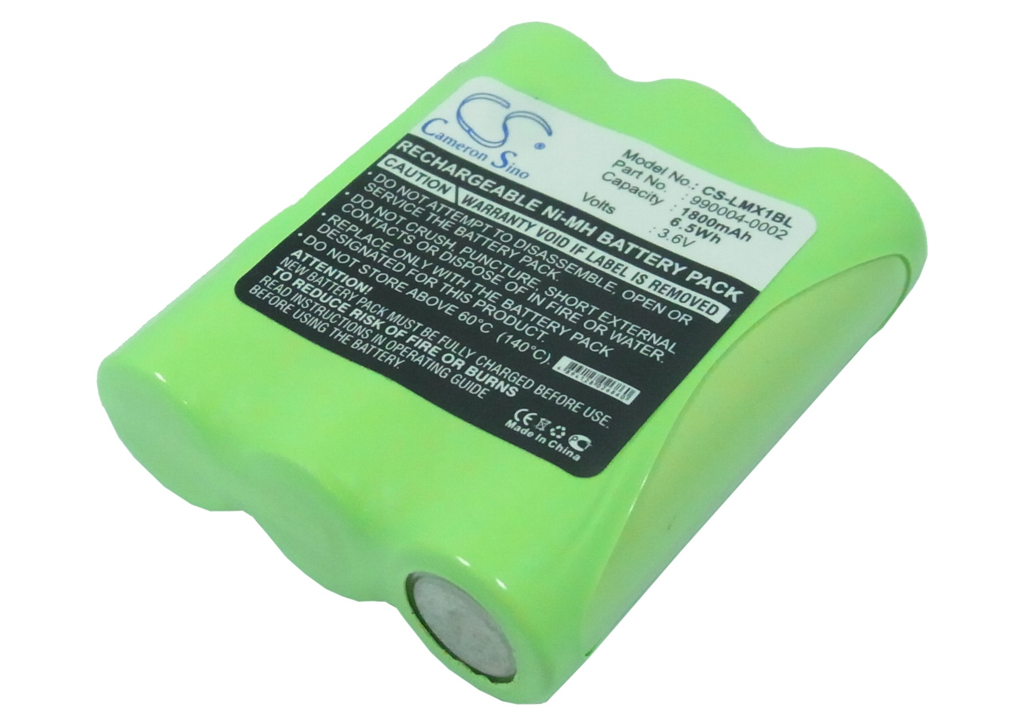Banshee Replacement Battery for LXE 00-864-00, 990004-0002, H150AA3PF, PS21H2-A, PS21H2-D, PS21H3-D 1800mAh