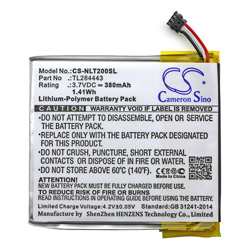 Banshee Replacement Battery for Nest Learning Thermostat 1st Generation T100577 380mAh