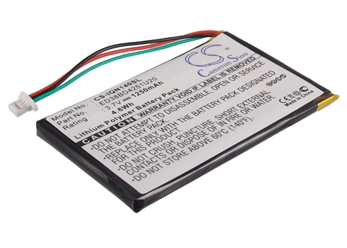 """Tank Brand  Battery for Garmin Nuvi 1400, 1450, 1450T, 1490, 1490T -ED38BD4251U20"""