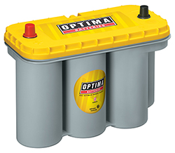 Optima Batteries YELLOWTOP Battery Group D31A 900 CCA Top Post - 8051-160