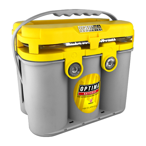 Optima Batteries YELLOWTOP Battery Group D34/78 750 CCA Side/Top Post - 8014-045