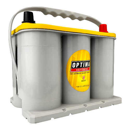 Optima Batteries YELLOWTOP Battery Group D35 620 CCA Top Post - 8040-218