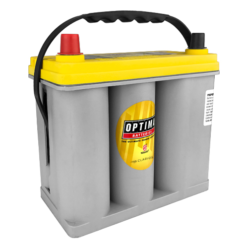 Optima Batteries YELLOWTOP Battery Group D51 450 CCA Top Post - 8071-167