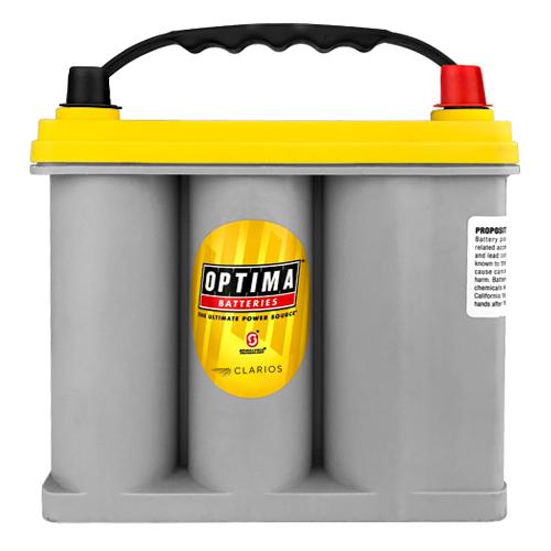 Optima YellowTop Deep-Cycle 12-Volt Batteries 8073-167 D51R 1