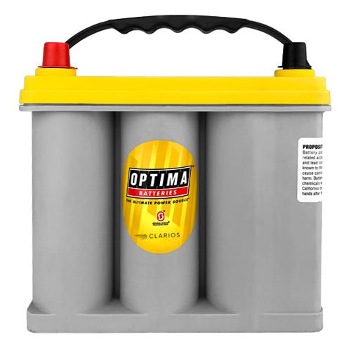 Optima Batteries Group D51, SC51DA, 8071-167 Yellow Top Battery 1