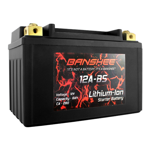 Banshee Lithium Ion  YT12A-BS Motorsports Battery