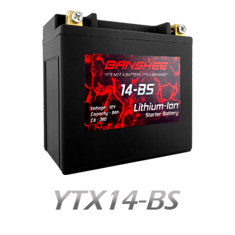 YTX14-BS Lithium Battery