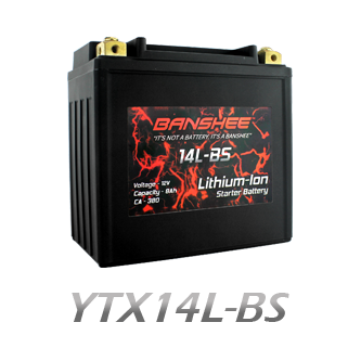 YTX14L-BS Lithium Battery