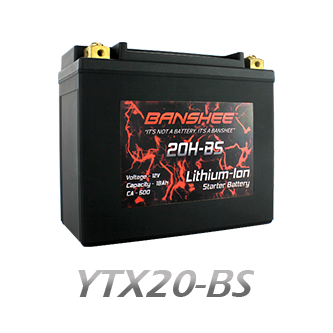YTX20-BS Lithium Battery
