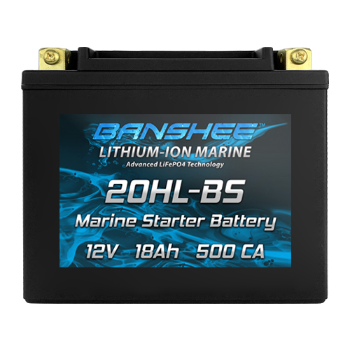 Starter Battery for Small Fishing Boat 25hp or Less