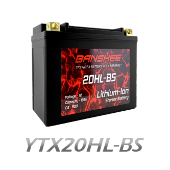 YTX20HL-BS Lithium Battery