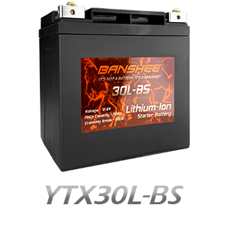 YTX30L-BS Lithium Battery