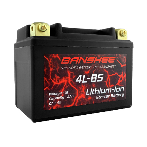 Lithium Motorcycle Battery for YTX4L-BS