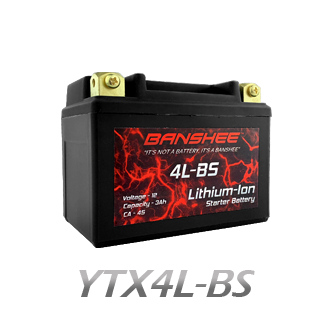 YTX4L-BS Lithium Battery