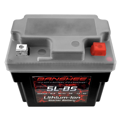 Lithium Ion 5L-BS Sealed Motorcycle Starter Battery