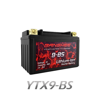 YTX9-BS Lithium Battery