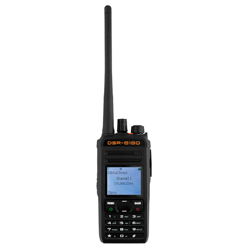 Digital Two-Way 400 - 470MHz UHF Radio w/ 1800mAh Rechargeable Battery 5