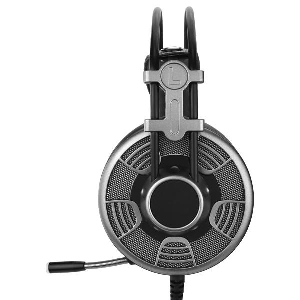 Gaming Headset LED Headphones 7.1 Stereo Surround Sound for PS4 PC With Mic