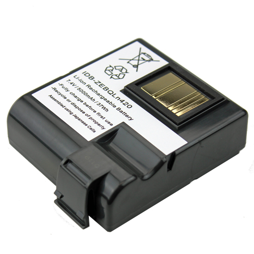 Replacement Battery Pack for Zebra QLn420 Series Mobile Printers Fits P1040687