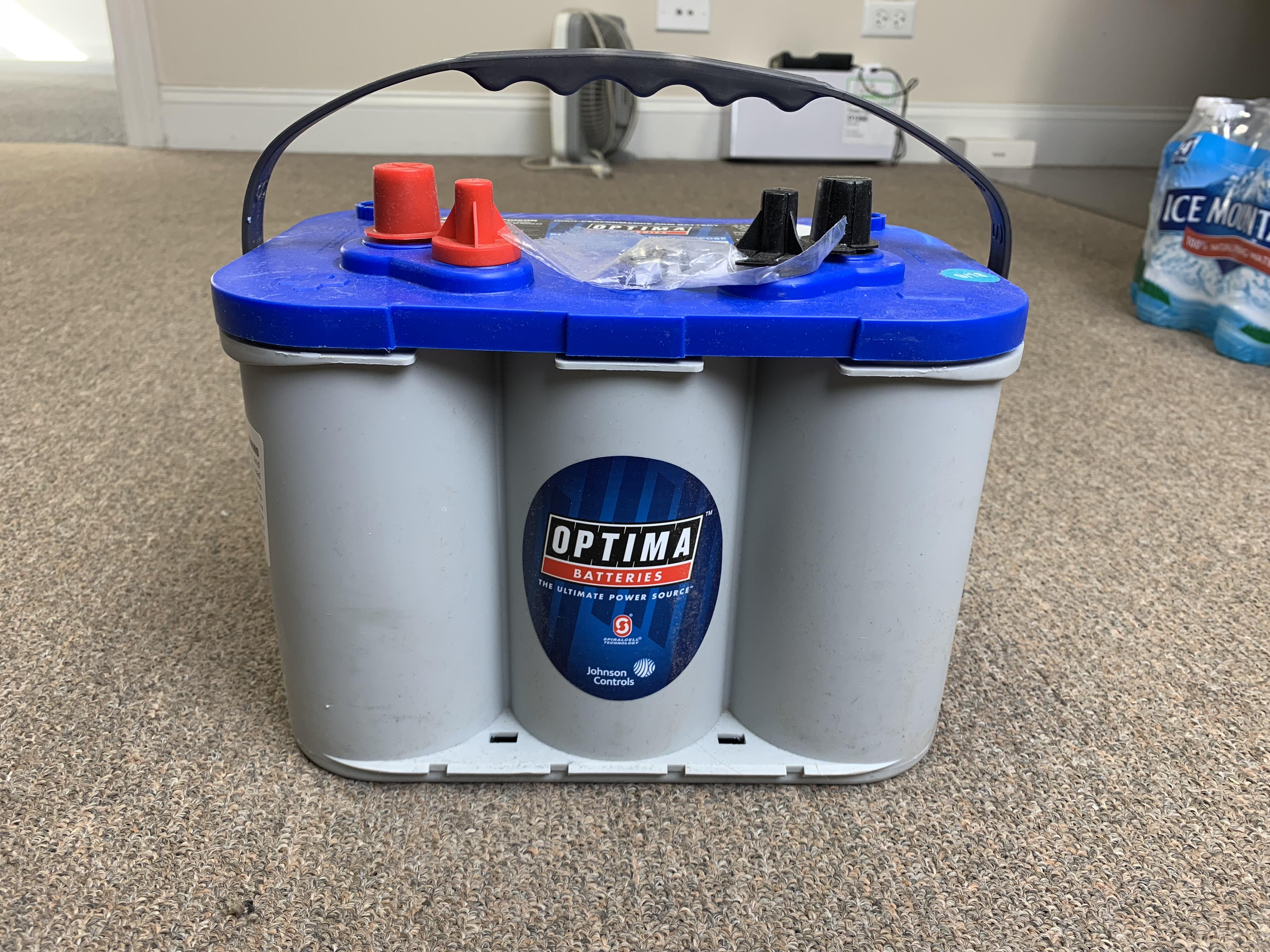 Optima 8016-61 Blue Top Battery (Blemished)