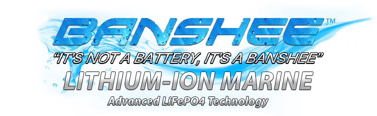 Banshee Lithium Marine Batteries