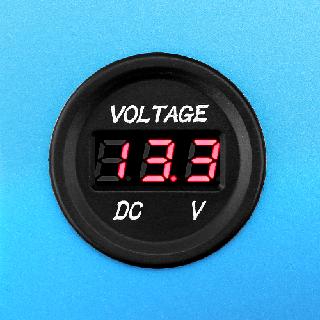Lithium Deep Cycle Marine Battery Volt Meter