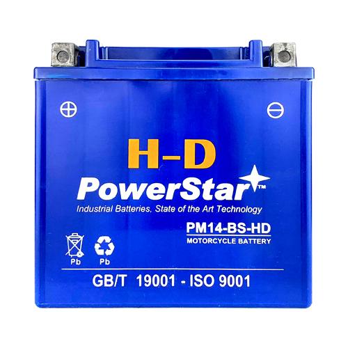 3 YEAR WARRANTY Battery YTX14-BS for HONDA TRX 500 420 450 350 300 Rubicon Forem 1