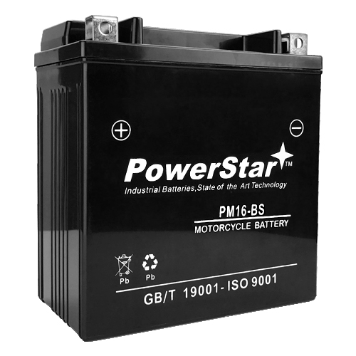 YTX16-BS Motorcycle Power Sports Battery