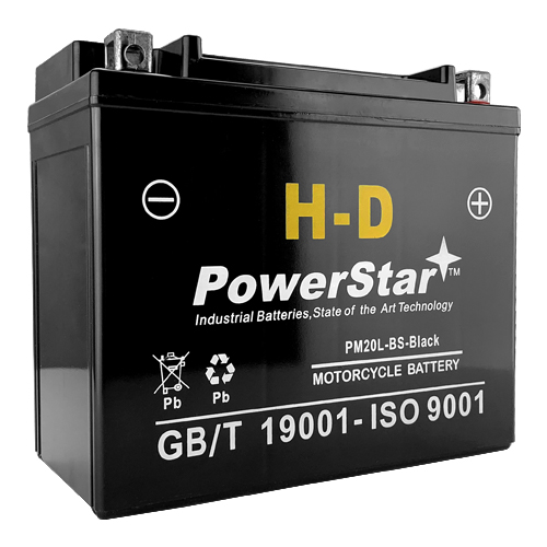 Motorcycle Battery for Harley-Davidson 1340cc FXD/Fxst Dyna 1997 Replaces YTX20L-BS