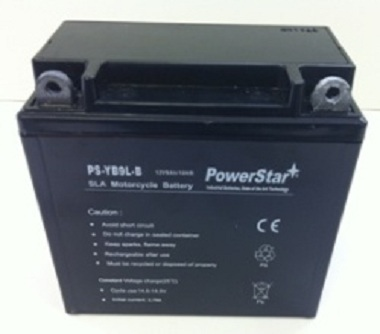 PowerStar PS-YB9L-B, 12N9-4B Motorcycle Battery