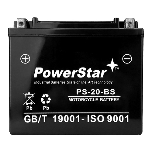 Twin Power YTX20H-BS AGM Battery  65991-82B By PowerStar 1