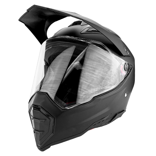 Off Road Motocross Motorcycle Helmet Matte Black