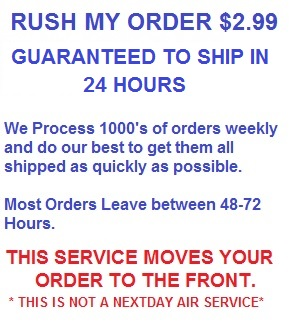 Rush My Order Now!!