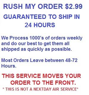 Rush My Order Now!!