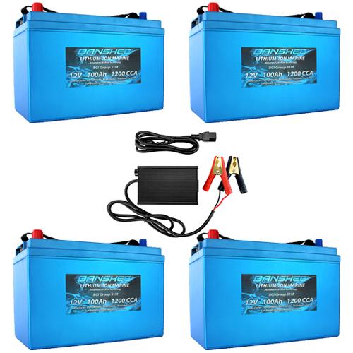 Banshee 48V 100Ah RV Lithium Battery Kit
