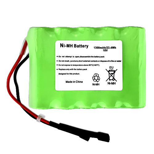 Replacement Battery for Euro-Pro Shark XB780N 1300mAh