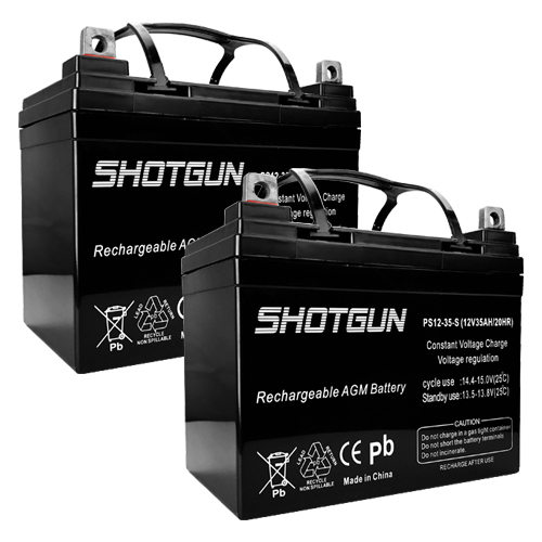 PS-12350 NB 12V 35AH U1 BCI Battery (Replacement) 2 Pack
